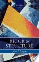 Rigor And Structure Book PDF