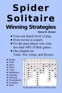 Spider Solitaire Winning Strategies