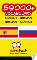 59000  Spanish   Russian Russian   Spanish Vocabulary