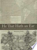 He That Hath an Ear