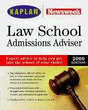 Kaplan Newsweek Law School Admissions Advisor