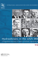 Hydraulicians in the USA 1800-2000: A biographical ...