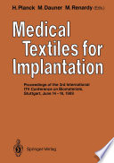 Medical Textiles for Implantation