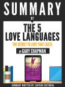 The 5 Love Languages Pdf [Pdf/ePub] eBook