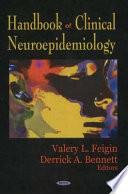 Handbook of Clinical Neuroepidemiology Book