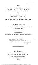 The family nurse  or  Companion of the frugal housewife