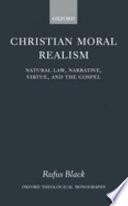 Christian Moral Realism Book