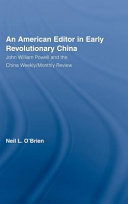 An American Editor In Early Revolutionary China