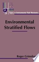 Environmental Stratified Flows Book