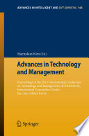 Advances in Technology and Management