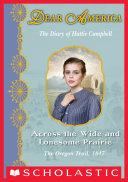 Dear America: Across the Wide and Lonesome Prairie Pdf/ePub eBook