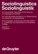 Sociolinguistics