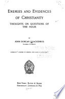 Enemies and Evidences of Christianity