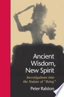 Ancient Wisdom, New Spirit