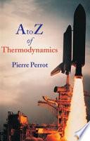 A to Z of Thermodynamics