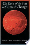 The Role of the Sun in Climate Change Book