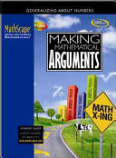 MathScape  Seeing and Thinking Mathematically  Course 2  Making Mathematical Arguments  Student Guide