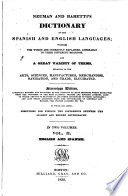 Neumann and Baretti's Dictionary of the Spanish and English Languages