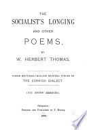 The Socialist's Longing and Other Poems