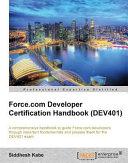 Force.com Developer Certification Handbook (Dev401) Pdf/ePub eBook
