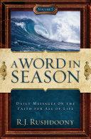 A Word In Season Vol. 5 [Pdf/ePub] eBook