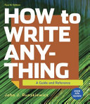 How to Write Anything with 2020 APA Update