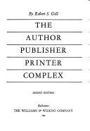 The Author Publisher Printer Complex