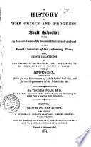 History of the Origin and Progress of Adult Schools
