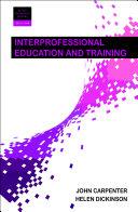 Interprofessional Education and Training 2e