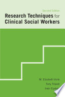 Research Techniques for Clinical Social Workers Book