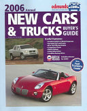 Edmunds New Cars   Trucks Buyer s Guide 2006 Annual Book