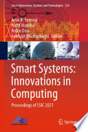 Smart Systems  Innovations in Computing