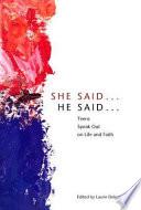 She Said    He Said