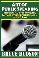 Art of Public Speaking Book PDF