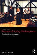 Secrets of Acting Shakespeare Pdf/ePub eBook