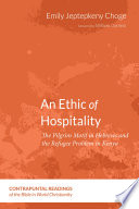 An Ethic of Hospitality