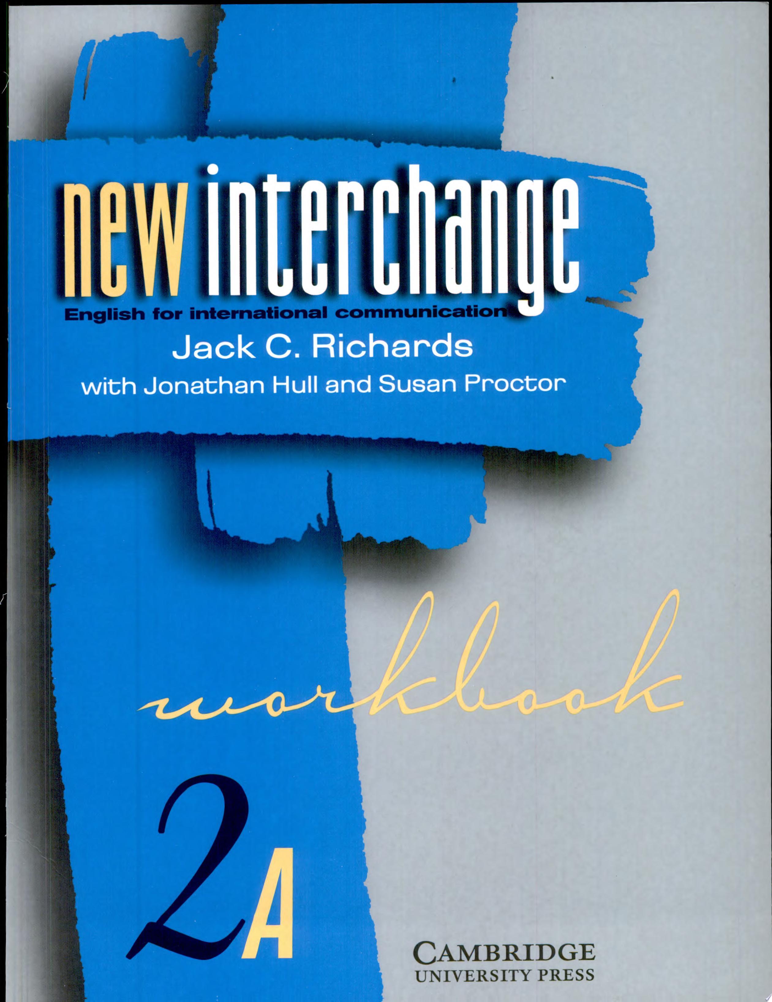 New Interchange Workbook 2A