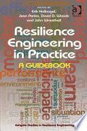 Resilience Engineering In Practice Book PDF
