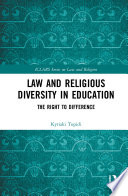 Law and Religious Diversity in Education Book