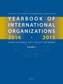 Yearbook Of International Organizations 2014 2015 Volume 6
