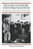 Excluded Ancestors, Inventible Traditions