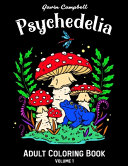 Psychedelia Adult Coloring Book