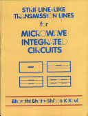 Stripline like Transmission Lines for Microwave Integrated Circuits