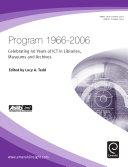 Program 1966-2006