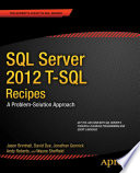 Sql Server 2012 T Sql Recipes