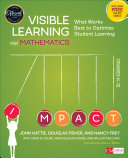 Pdf Visible Learning for Mathematics, Grades K-12 Telecharger