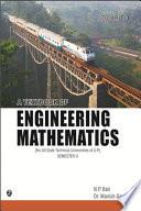 A Textbook of Engineering Mathematics (U.P. Technical University, Lucknow) Sem-II