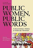 Public Women, Public Words