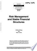 Risk Management and Stable Financial Structures for LDC Inc