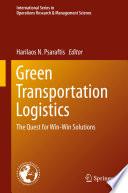 Green Transportation Logistics